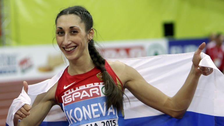 Екатерина КОНЕВА может стать жертвой новой антидопинговой политика ВФЛА и пропустить Игры в Рио. Фото Reuters