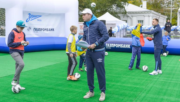 """""""Большой фестиваль футбола"""" - уникальный марафон Академии футбольного клуба """"Зенит"""", который самый популярный клуб страны проводит при поддержке Газпромбанка."""