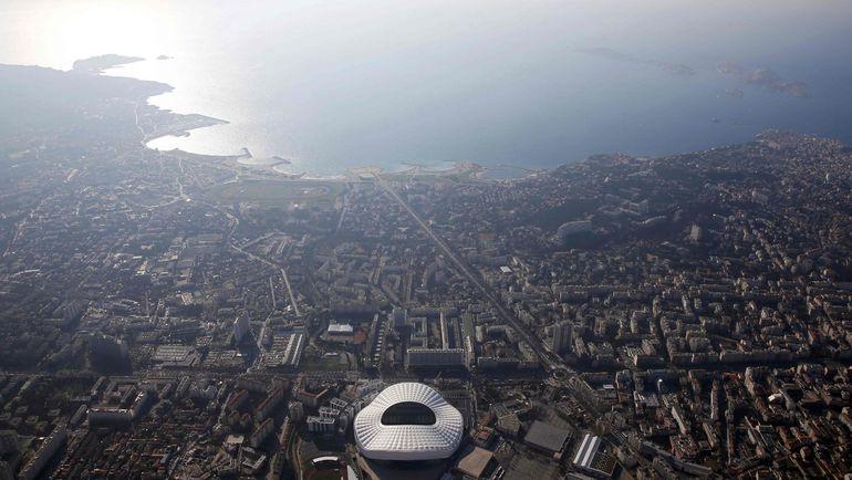Вид на Марсель. Фото Reuters
