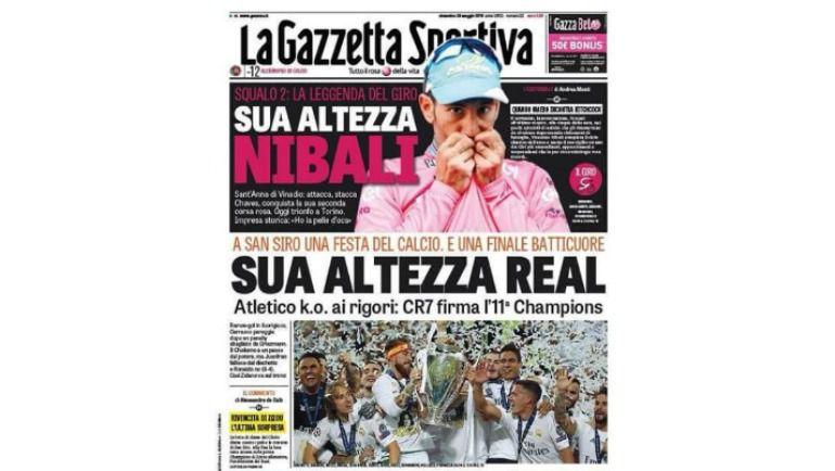 La Gazetta Sportiva.