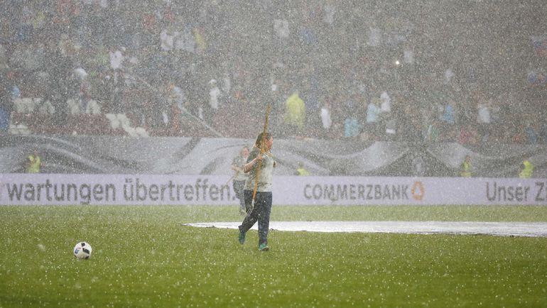 Стихия в Аугсбурге. Фото Reuters