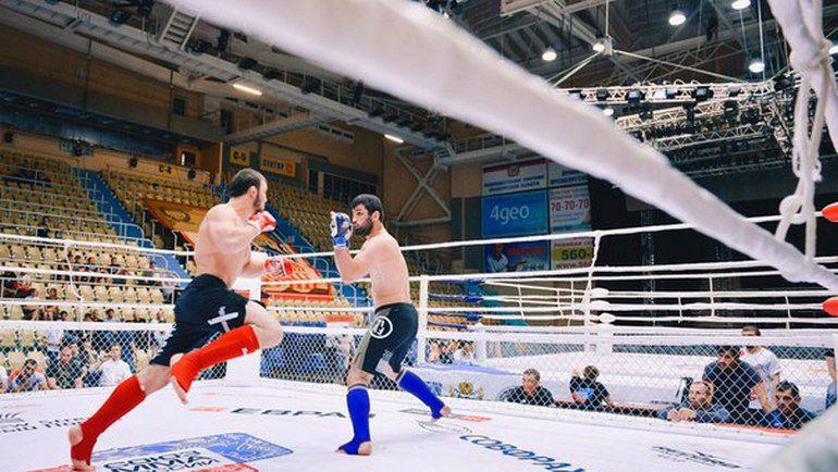 В Оренбурге завершился чемпионат России по смешанным единоборствам. Фото vk.com/orenmma