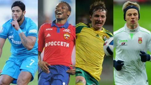 10 игроков,  которые уедут из РФПЛ этим летом.  От Халка до Зинченко