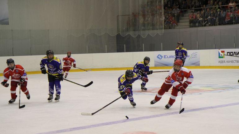 В Новомосковске собрались 12 хоккейных команд из России, Литвы, Германии, Швейцарии, Казахстана, Финляндии и Бельгии.