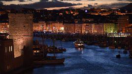 Вид на марсельский Старый порт.