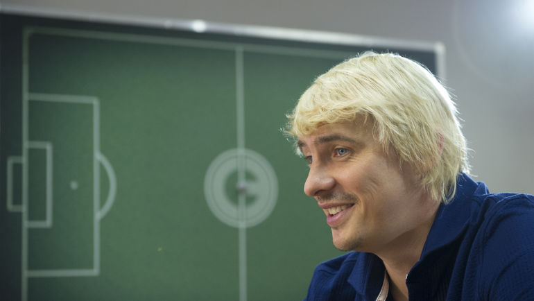 Максим КАЛИНИЧЕНКО. Фото Федор УСПЕНСКИЙ, «СЭ»