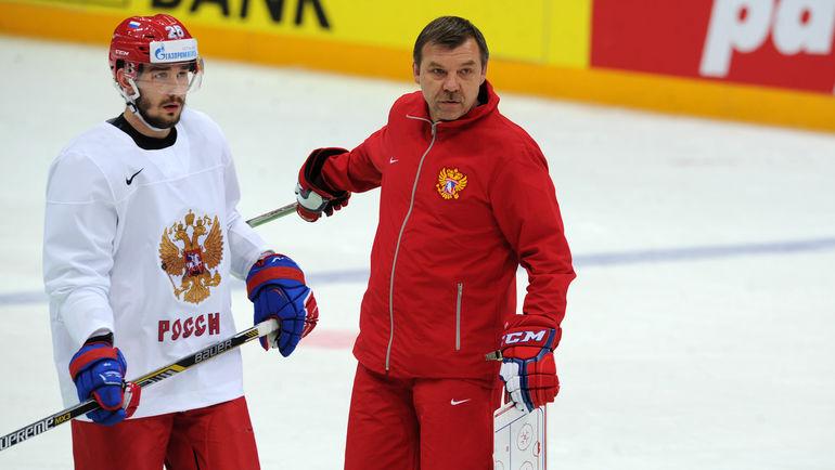 Вячеслав ВОЙНОВ и Олег ЗНАРОК. Фото Алексей ИВАНОВ, «СЭ»