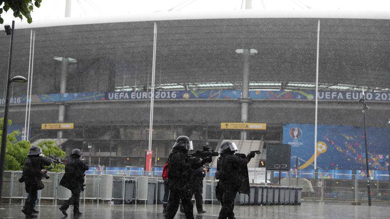Французская полиция готовится к Euro-2016. Фото AFP
