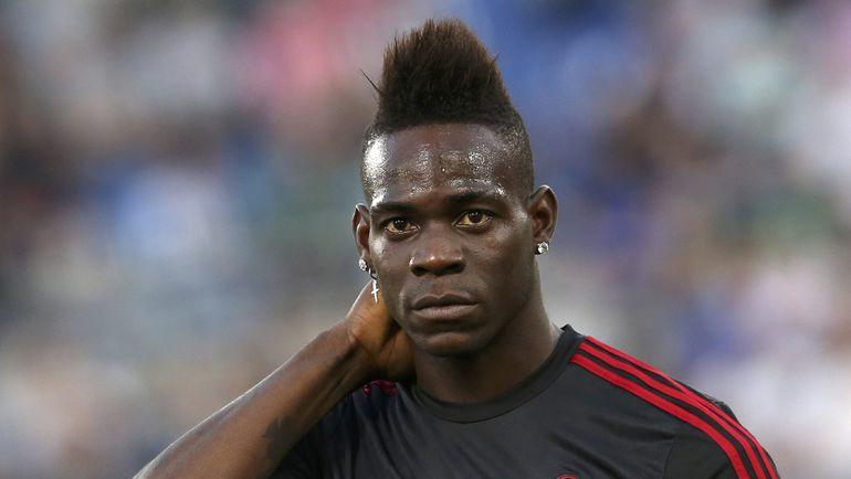 "Нападающий ""Милана"" Марио БАЛОТЕЛЛИ давно перестал быть СуперМарио. Фото Reuters"