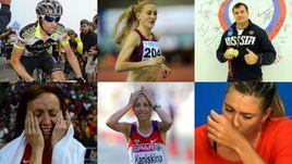 Список россиян с допинговыми проблемами - это настоящий пантеон суперзвезд.