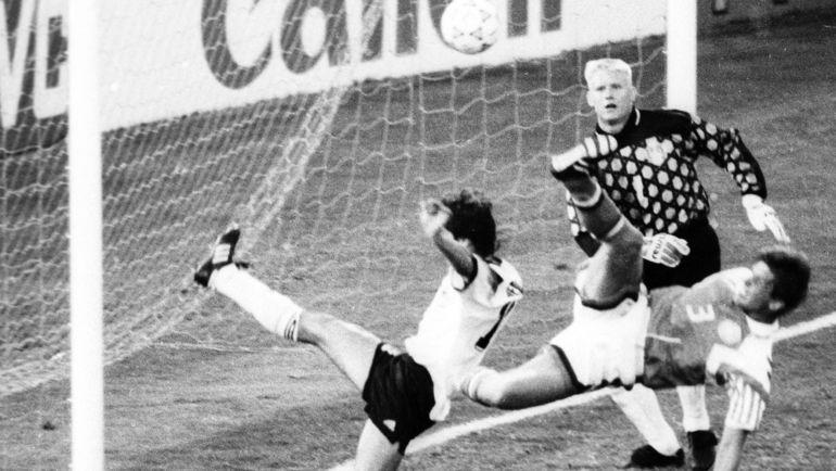 "Финал ЧЕ-92. Дания - Германия - 2:0. Фото Александр ФЕДОРОВ, ""СЭ"""