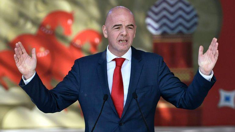 Джанни ИНФАНТИНО не проработал в ФИФА и ста дней, как вызвал недоверие к себе. Фото AFP