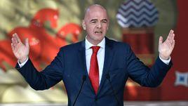 Джанни ИНФАНТИНО не проработал в ФИФА и ста дней, как вызвал недоверие к себе.