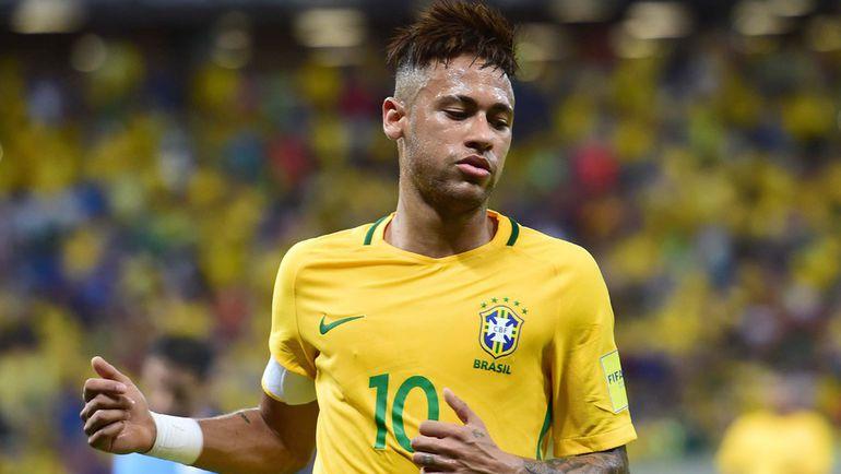 Нападающий сборной Бразилии НЕЙМАР. Фото AFP