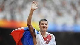 22 августа 2008 года. Только что российский ходок Денис НИЖЕГОРОДОВ завоевал бронзу Олимпийских игр на дистанции 50 км.