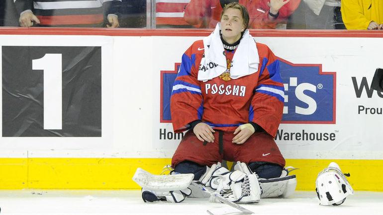 Серебряный призер молодежного ЧМ-2012 и бронзовый призер-2013 Андрей МАКАРОВ. Фото AFP