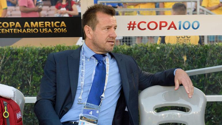Главный тренер сборной Бразилии ДУНГА. Фото AFP