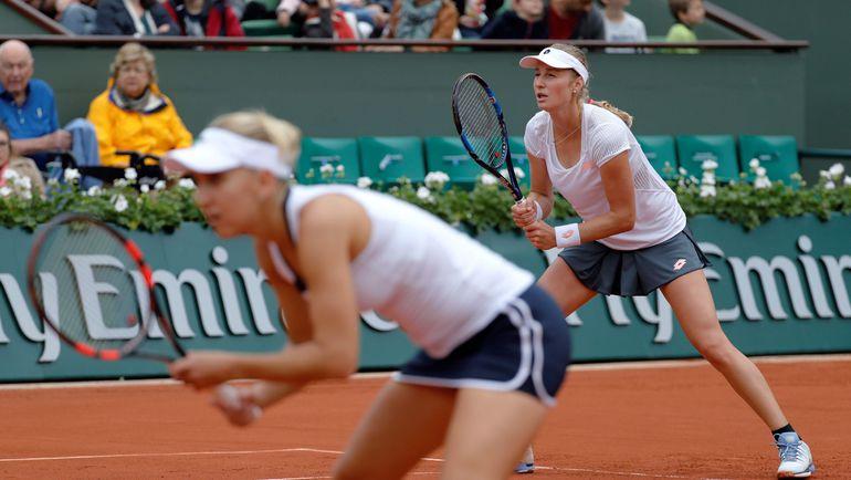 Елена ВЕСНИНА и Екатерина МАКАРОВА. Фото AFP