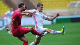 Сегодня. Монако. Сербия - Россия - 1:1. Травма Игоря ДЕНИСОВА.