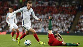 2 июня. Лондон. Англия - Португалия - 1:0. В атаке Джейми ВАРДИ.