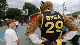 Баскетбольный мастер-класс от дальневосточного леопарда