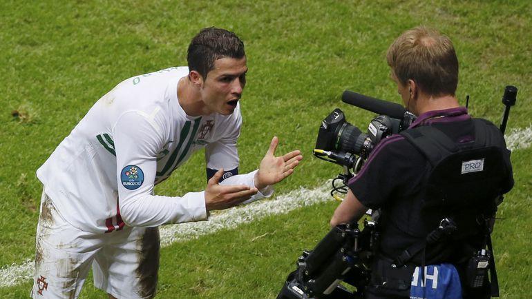 Нападающий сборной Португалии КРИШТИАНУ РОНАЛДУ. Фото Reuters