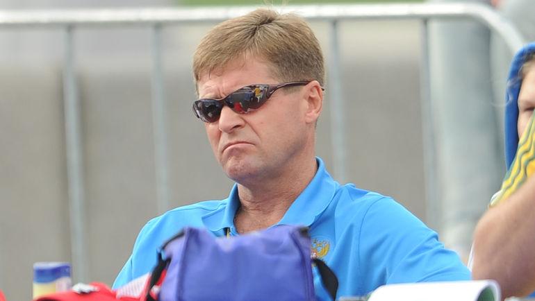 """Тренер Виктор ЧЕГИН. Фото Федор УСПЕНСКИЙ, """"СЭ"""""""