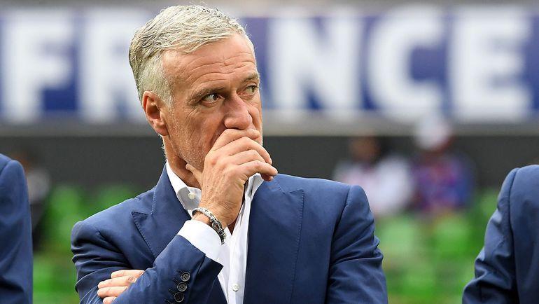 Главный тренер сборной Франции Дидье ДЕШАМ. Фото AFP