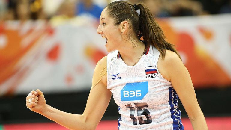 Татьяна КОШЕЛЕВА. Фото fivb.com