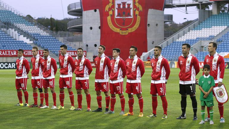 Сборная Гибралтара заменила Россию в отборочном турнире ЧМ-2018. Фото Reuters