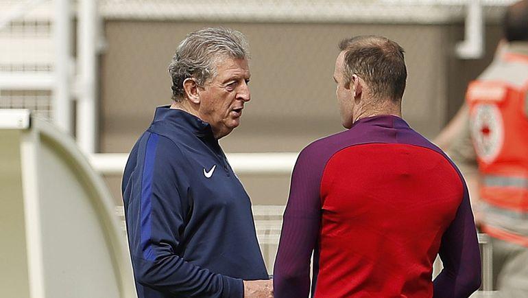 Рой ХОДЖСОН и Уэйн РУНИ. Фото Reuters