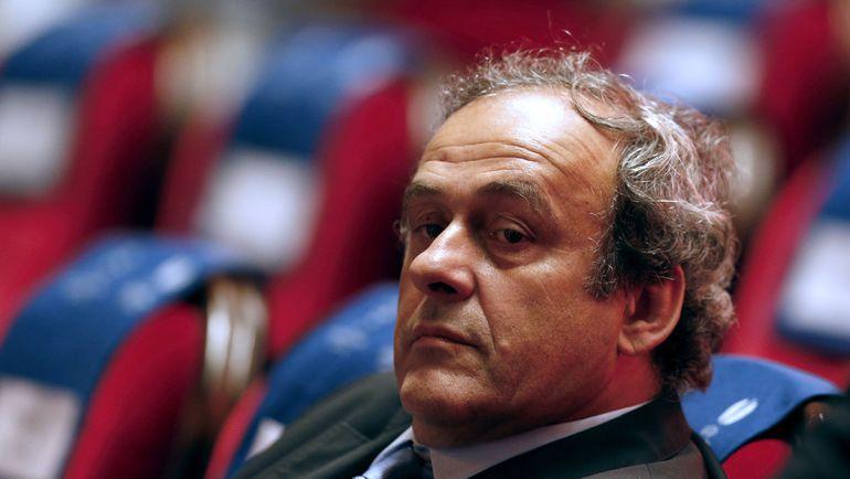 Экс-президент УЕФА Мишель ПЛАТИНИ. Фото AFP