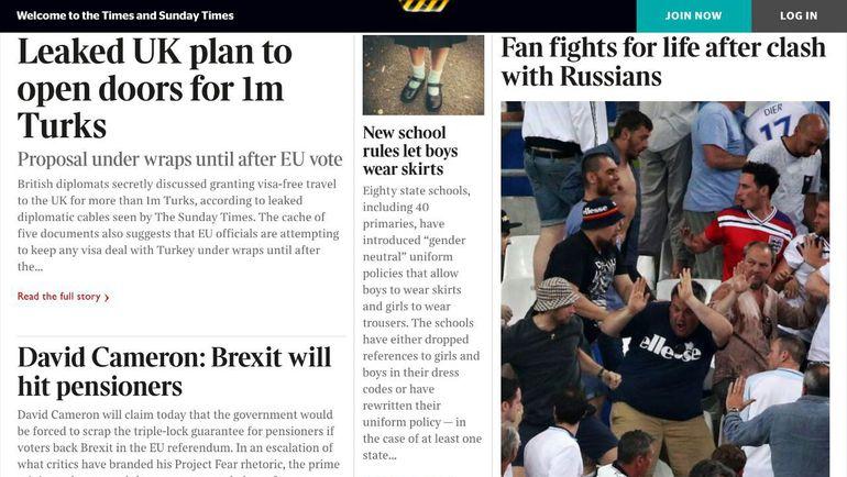 Sunday Times.