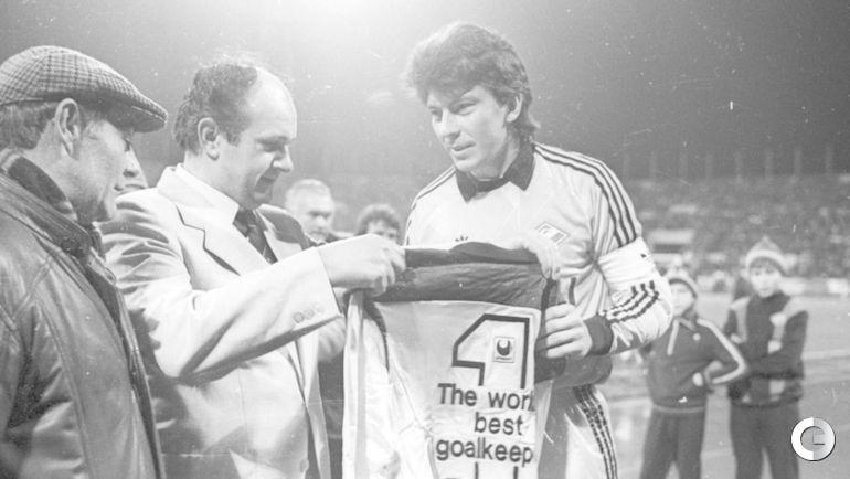 1988 год. Ринат ДАСАЕВ - лучший вратарь мира.