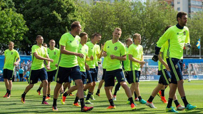 К Euro Швеция подходит в хорошем настроении. Фото Reuters