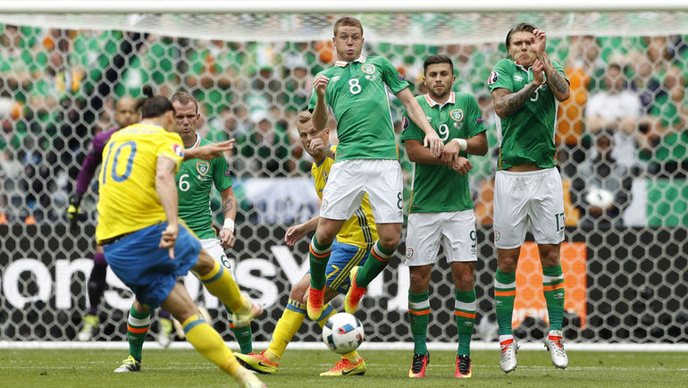 Понедельник. Сен-Дени. Ирландия – Швеция – 1:1.