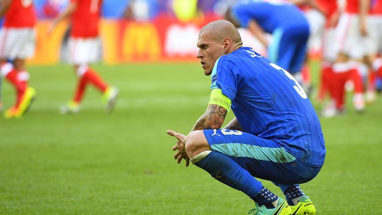 Разочарование Мартина ШКРТЕЛА после поражения. Фото AFP