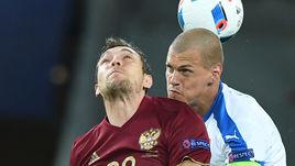 Сегодня. Лилль. Россия - Словакия - 1:2. Артем ДЗЮБА против Мартина ШКРТЕЛА.