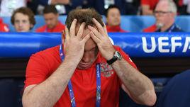 Вчера. Лилль. Россия - Словакия - 1:2. Леониду СЛУЦКОМУ накануне третьего, решающего, матча с Уэльсом есть над чем подумать.