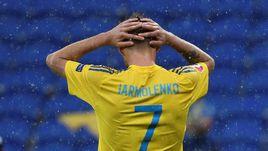 Сегодня. Лион. Украина - Северная Ирландия - 0:2. Андрей ЯРМОЛЕНКО не смог придумать, как взломать мощную оборону североирландцев.