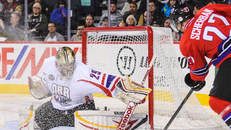 В игре Никита ЩЕРБАК. Фото AFP