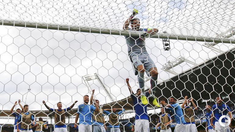 Сегодня. Тулуза. Италия - Швеция - 1:0. Джанлуиджи БУФФОН.