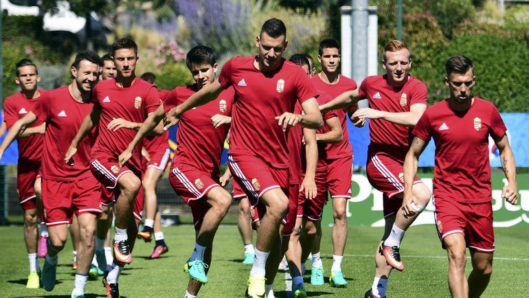 Венгрия готовится ко второму матчу на Euro. Фото AFP