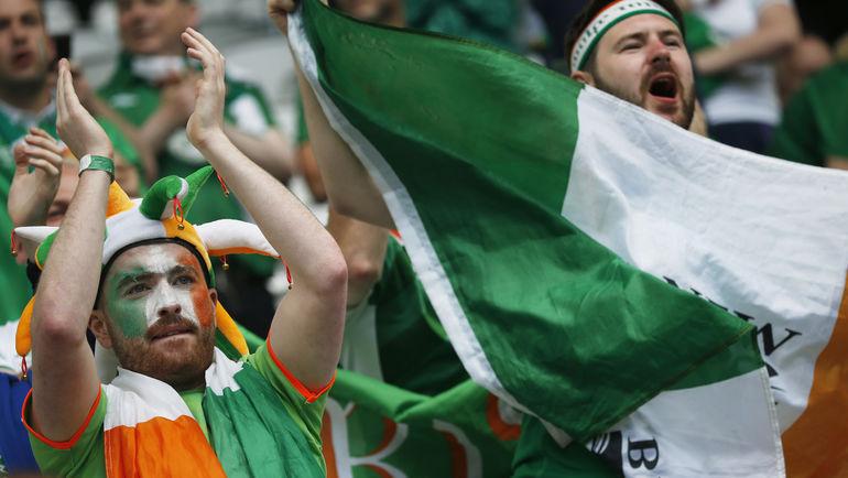 """""""Парни в зеленом"""" - лучшие на Euro. Фото Reuters"""