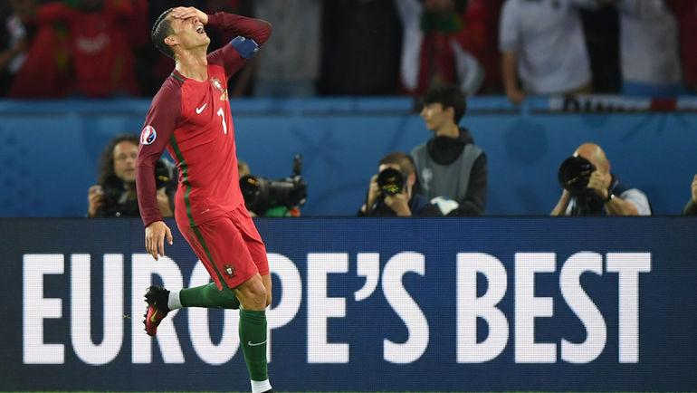 """Суббота. Париж. Португалия - Австрия - 0:0. На Euro-2016 Криштиану РОНАЛДУ сам не свой. Фото Александр ФЕДОРОВ, """"СЭ"""""""