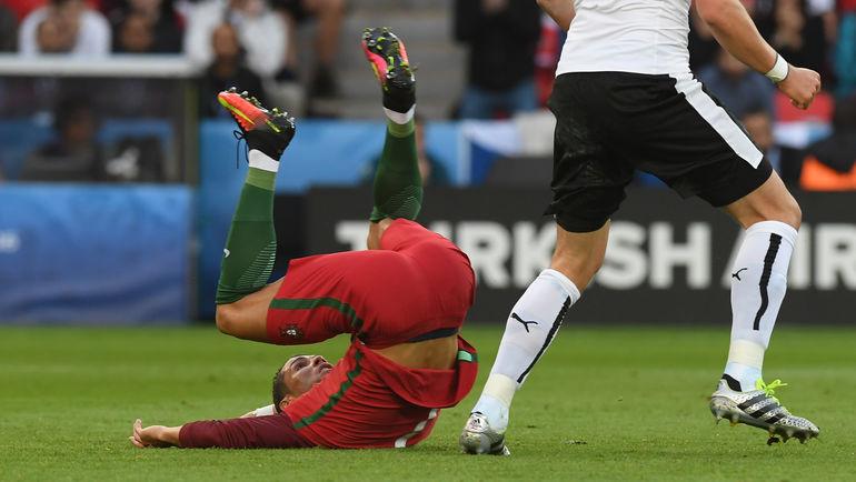 "Суббота. Париж. Португалия - Австрия - 0:0. Криштиану РОНАЛДУ. Фото Александр ФЕДОРОВ, ""СЭ"""