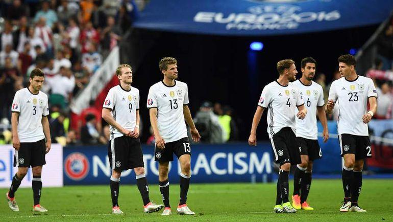 Германия наряду с Испанией - один из потенциальных соперников России, если та станет третьей. Фото AFP