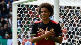 Суббота. Бордо. Бельгия - Ирландия - 3:0. 61-я минута. Аксель ВИТСЕЛЬ забил второй гол своей сборной в ворота ирландцев.