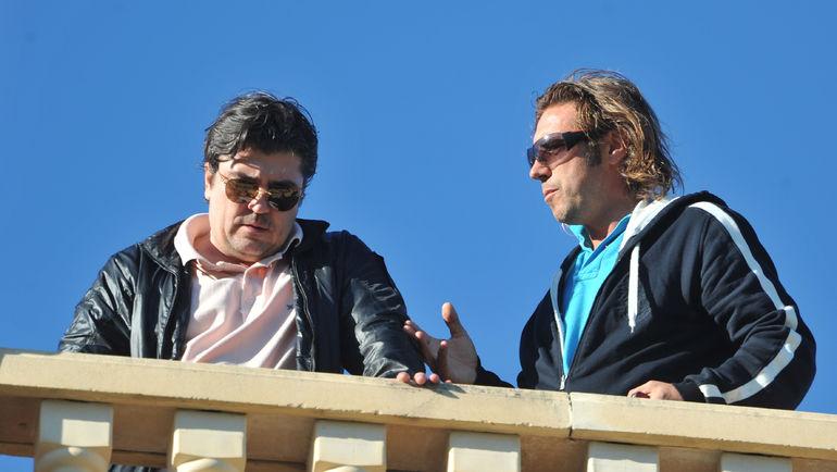 """Александр МОСТОВОЙ (справа) и Николай ПИСАРЕВ. Фото Александр ФЕДОРОВ, """"СЭ"""""""