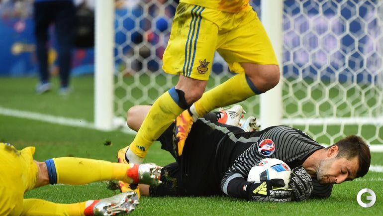 Вторник. Марсель. Украина - Польша - 0:1.